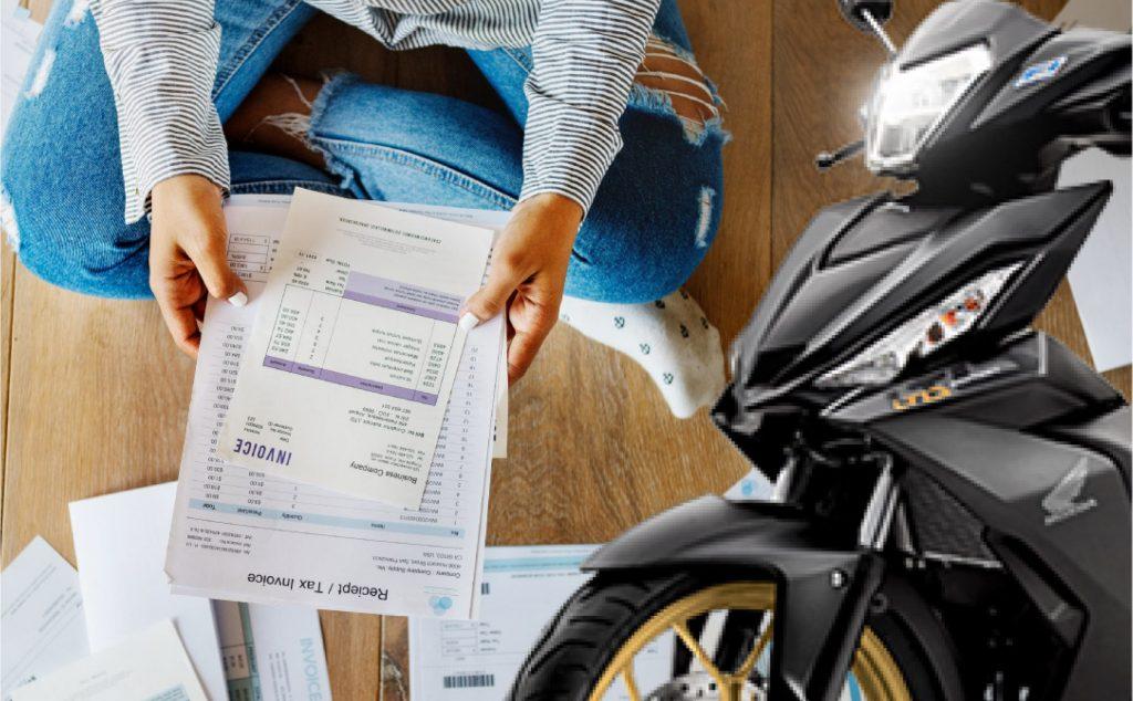 Ngân hàng Agribank có cho vay thế chấp giấy tờ xe máy